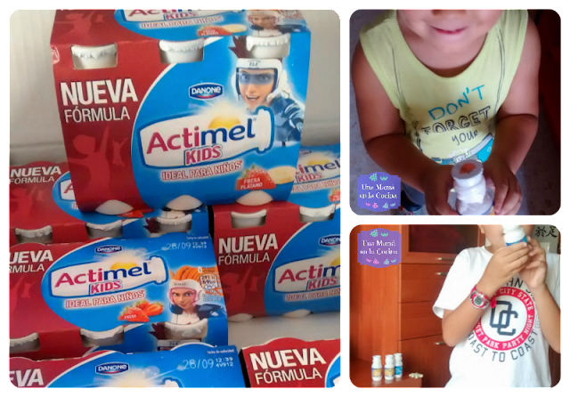 Producto lácteo Actimel Kids