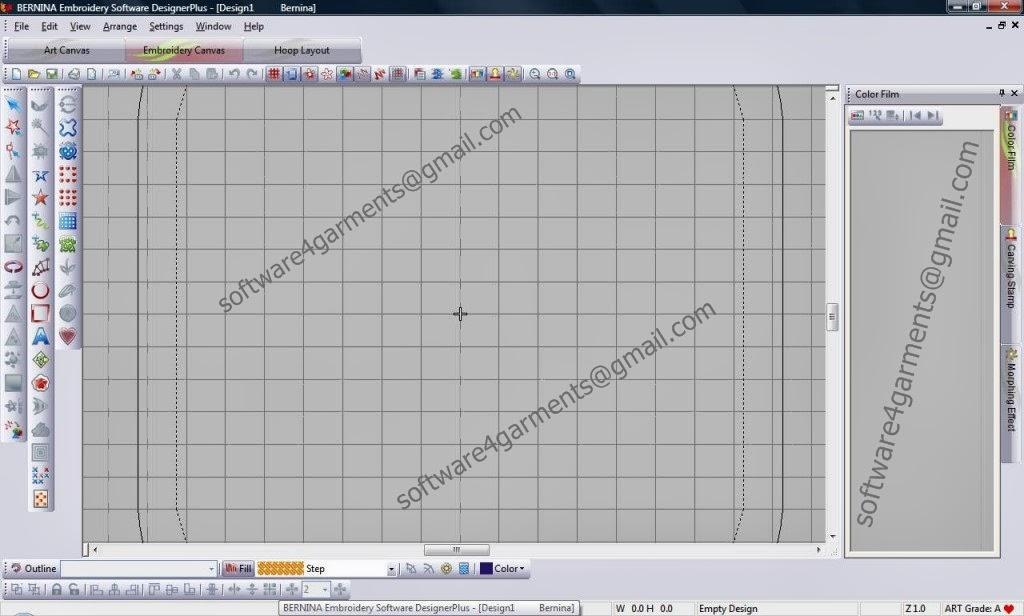 Bernina Embroidery Software Designer Plus 6 Software Retail Seller