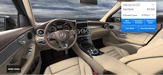 Nội thất Mercedes AMG GLC 43 4MATIC 2018 màu Vàng Silk 225