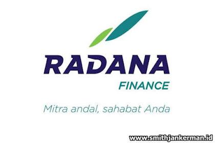 Lowongan Kerja Pekanbaru : PT. Radana Finance Desember 2017