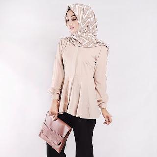 Model Baju Kerja Untuk Wanita Muslim