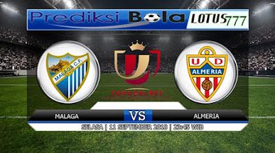 PREDIKSI MALAGA VS ALMERIA 11 SEPTEMBER 2018