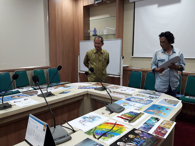 Galeri Foto Seleksi Terakhir PAPB International Cartoon Festival 2019
