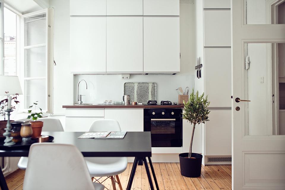 Nordic blends nordic inspiration kleine witte keuken