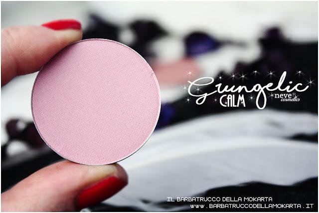 CALM Blush  Grungelic collection Neve cosmetics  recensione, pareri, makeup, consigli, comparazioni