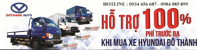 Bán xe tải Hyundai tại Ninh Bình