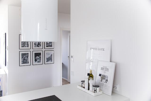 taulukollaasi, keittiön sisustus, valkoinen keittiö