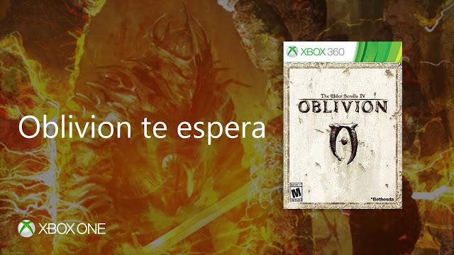 The Elder Scrolls: Oblivion llega a ONE