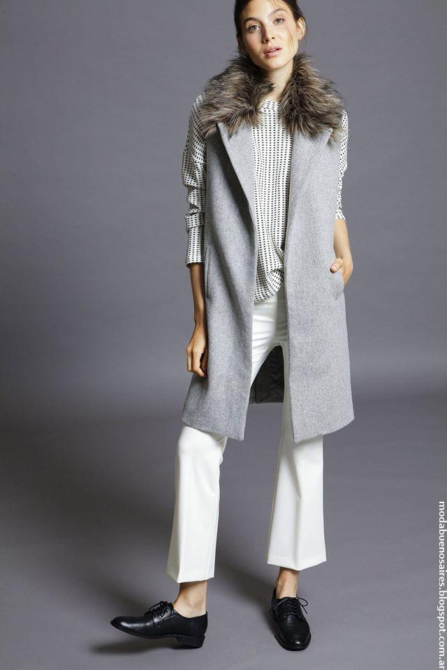 Moda invierno 2016 ropa de mujer Awada. Moda 2016.