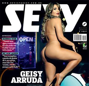 Geisy Arruda nua na Sexy de abril de 2016, veja fotos