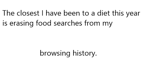 weight loss jokes one liners