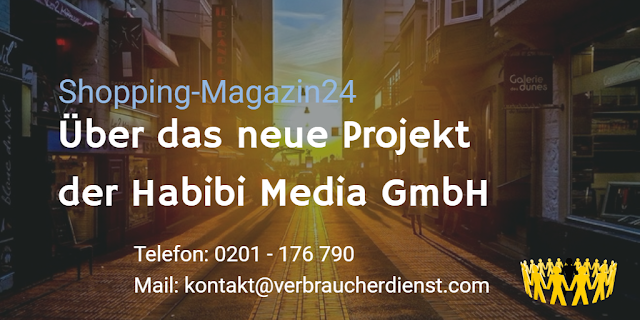 Shopping-Magazin24 - Neues Projekt der Habibi Media GmbH