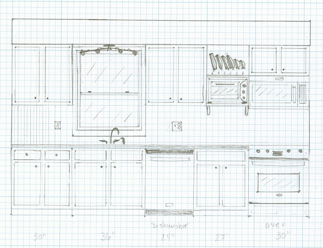 Kitchen plan drawing
