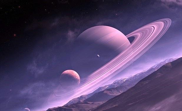 Mengenal Saturnus Planet Bercincin Dengan 60 Bulan