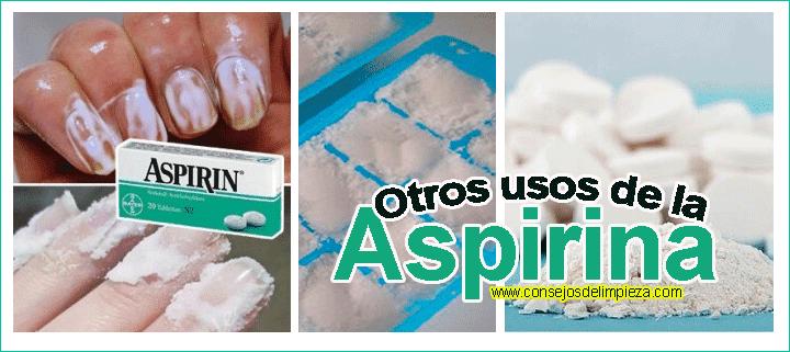 medicamentos que no se deben mezclar con aspirina