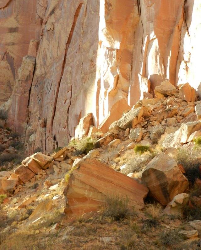 Luminous Rock Walls, Capitol Reef National Park: growcreative