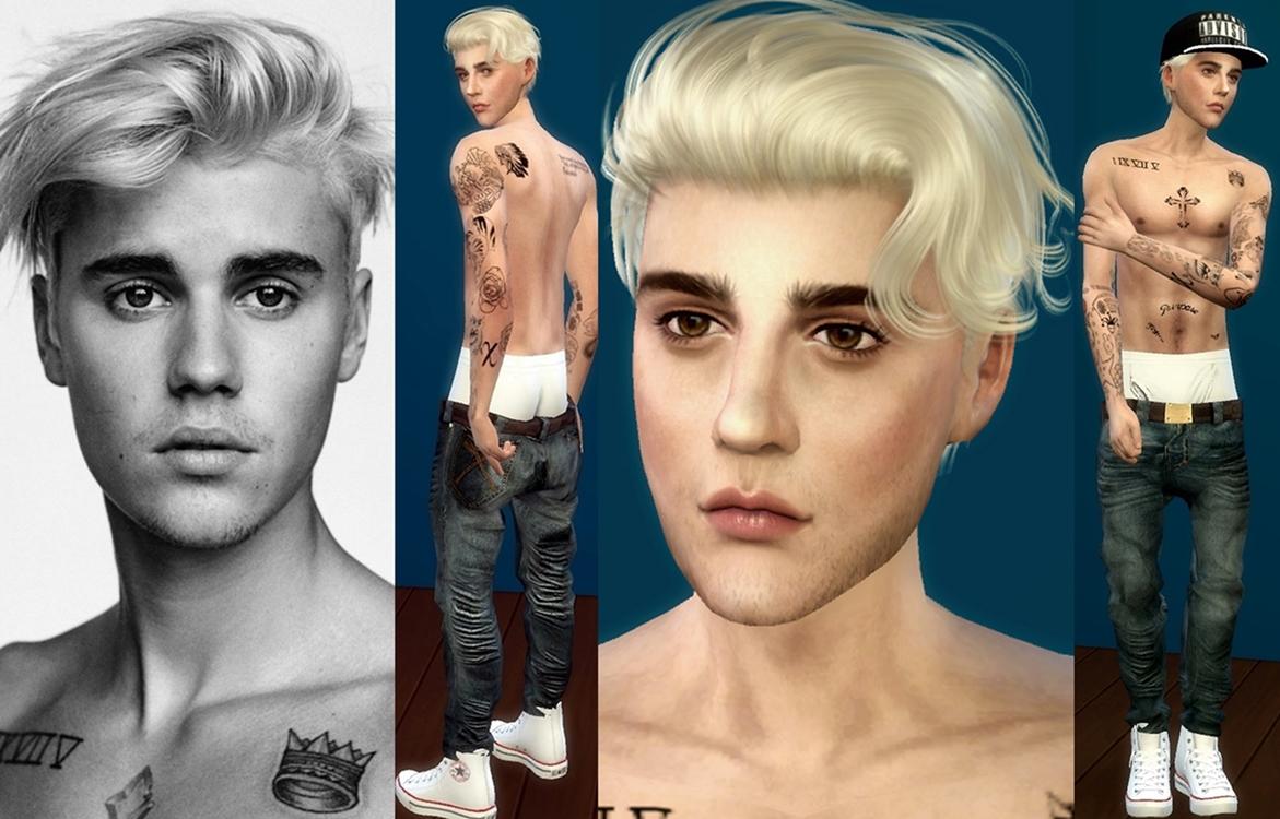 My Sims 4 Blog Justin Bieber By Adybatch