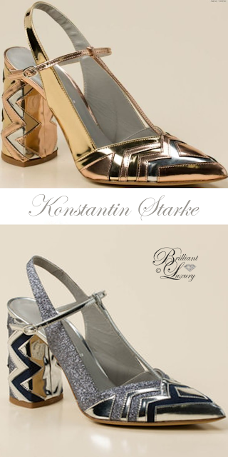 Brilliant Luxury ♦ Konstantin Starke Slingback Pumps