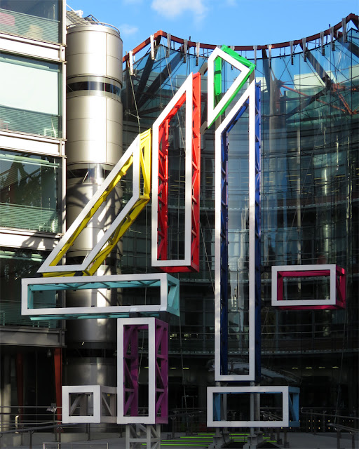 Big 4 by Freestate & Atelier One, Channel Four Television Corporation, Horseferry Road, London