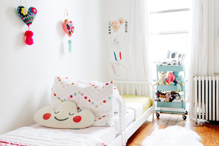 lovely nursery decor, interior design