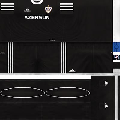 PES 6 Kits Qarabağ FK Season 2018/2019 by JeremySvr