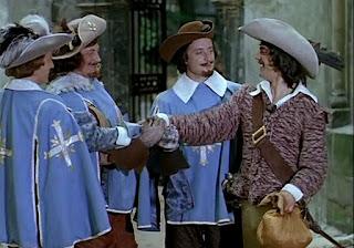 Три мушкетера - гениальная история, которая создала множество новых прекрасных историй :)