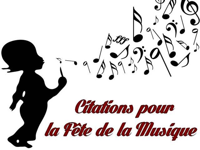 Citations pour la Fête de la Musique ~ Les Messages d'amour