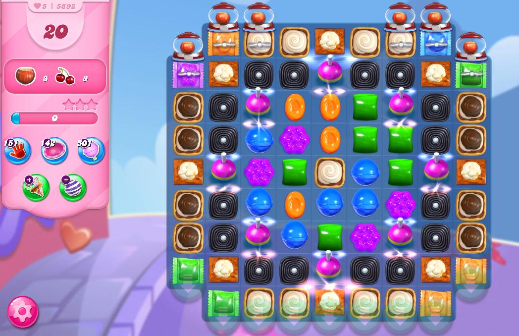 Candy Crush Saga level 5892
