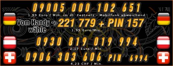 Telefonsexnummern von Studentinnen - Deutschland, Österreich und Schweiz