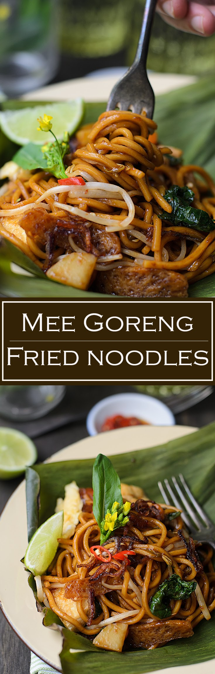 Malaysian mee goreng recipe.  Mee goreng (fried noodles) is one of many Malaysians' favourite street food. Mee goreng is easy to cook, delicious comfort food.