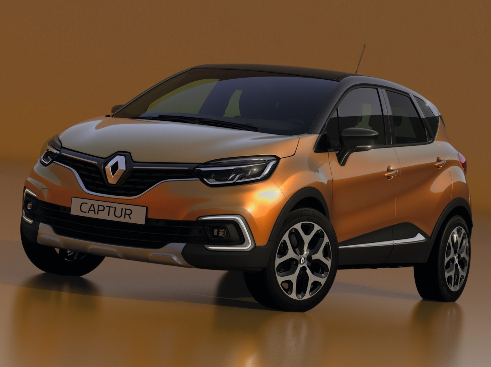 renault captur 2018 com facelift revelado na europa car blog br. Black Bedroom Furniture Sets. Home Design Ideas