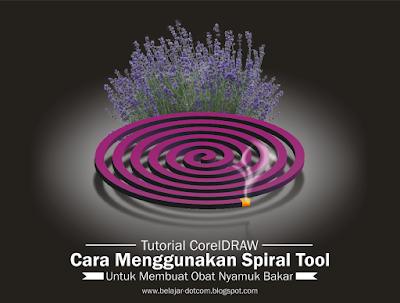 Cara Menggunakan Spiral Tool CorelDRAW untuk Membuat Vector Obat Nyamuk Beserta Api dan Asapnya - belajar coreldraw pemula, tutorial coreldraw profesional, kumpulan tutorial coreldraw, artikel coreldraw pemula, komunitas pengguna coreldraw indonesia, cara membuat spiral di coreldraw, cara menggambar spiral, cara mudah dan cepat membuat objek spiral di coreldraw, spiral tool coreldraw digunakan untuk, spiral tool coreldraw berfungsi, fungsi tool coreldraw, fungsi toolbox pada coreldraw beserta gambarnya, toolbar coreldraw, fungsi toolbar pada corel draw x4.