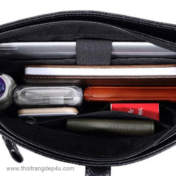 Túi đeo chéo da cao cấp sành điệu DNF283