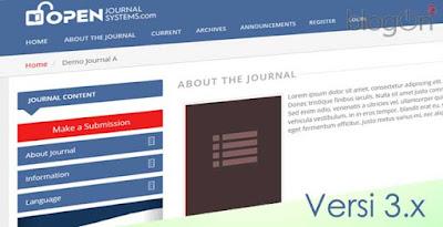 Open Journal System (OJS) Terbaru untuk Mengelola Jurnal Online
