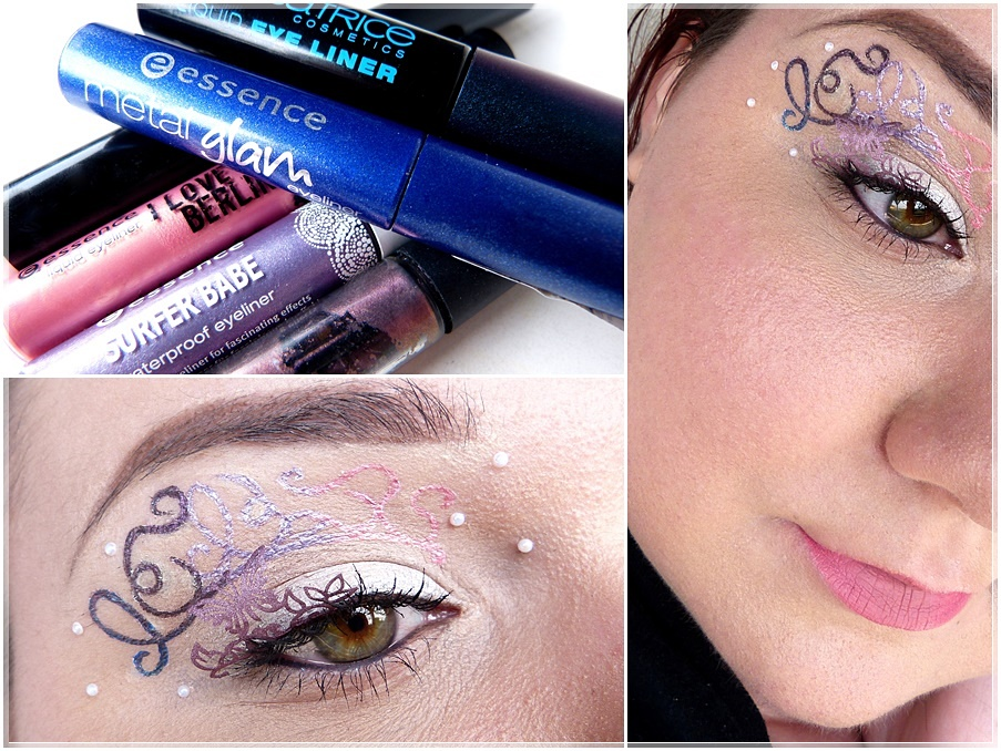 Make Up mit Ornamenten