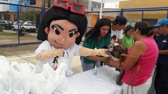 Realizan gran campaña veterinaria gratuita en el Rímac  FOTOS