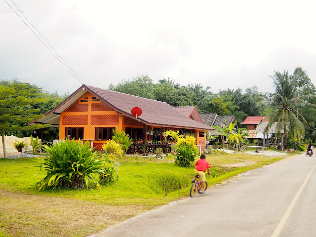 Homestay village in Krabi, Thailand