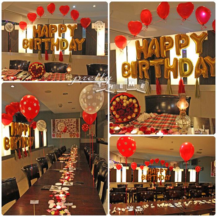 Pretty Theme Event Planner: Balloon Muar Belon Muar Yeay