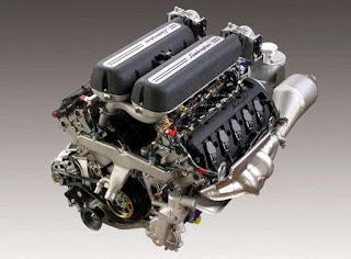 Motore V10 Lamborghini Gallardo