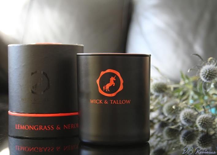 Wick and Tallow Lemongrass & Neroli Candle