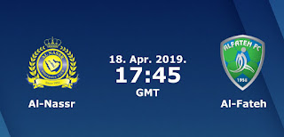 مشاهدة مباراة النصر والفتح بث مباشر 18-4-2019 الدوري السعودي
