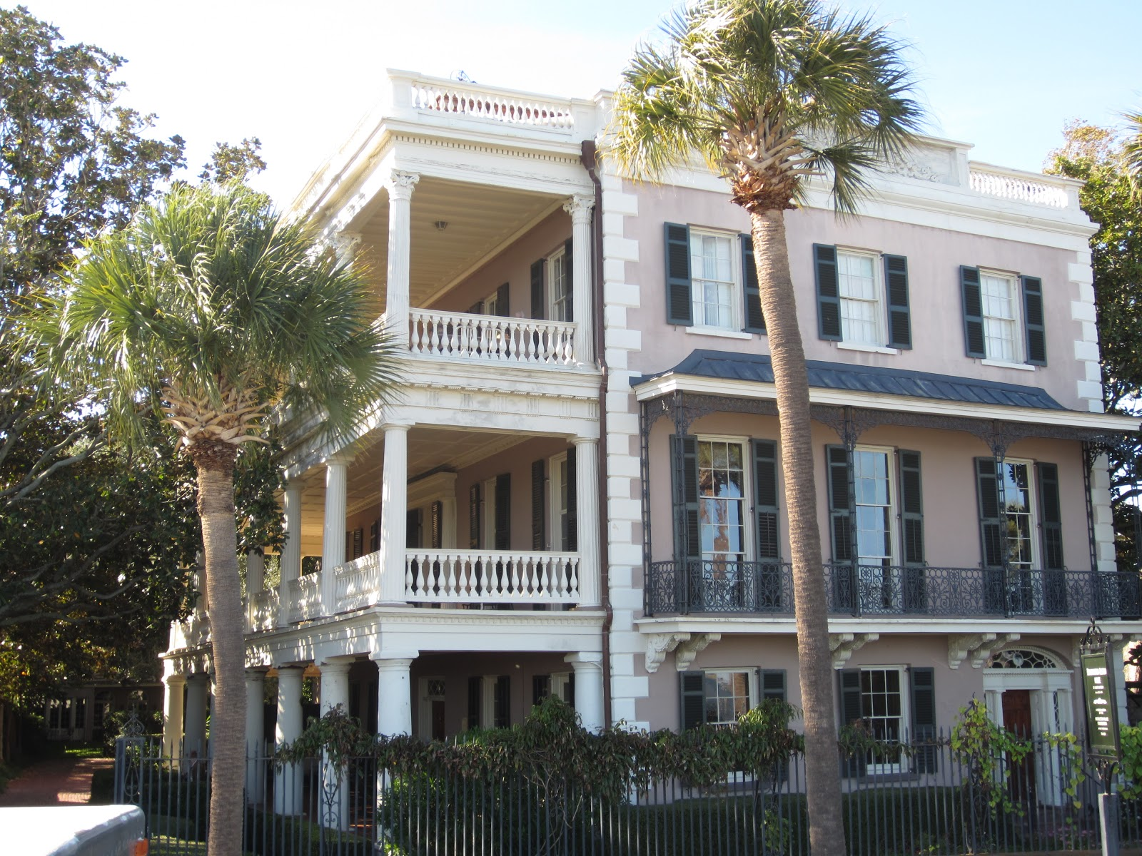 Exterior of Charleston Home