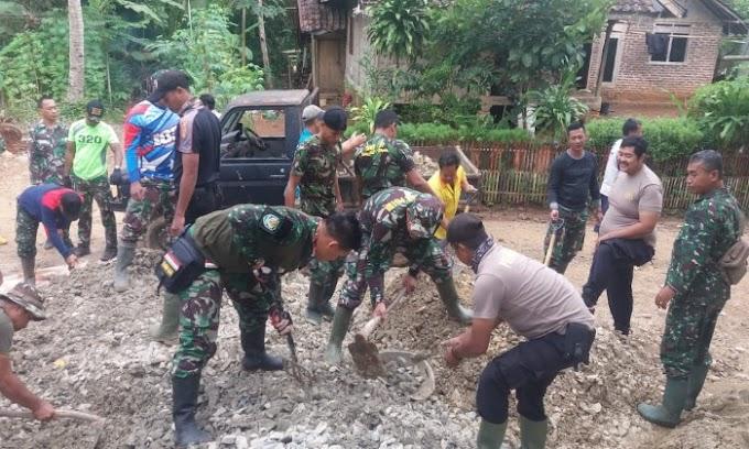 Rasa Kebersamaan Gotong royong, Melalui TMMD Kodim 0601/Pandelang