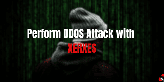How to Perform DDOS Attack with XERXES
