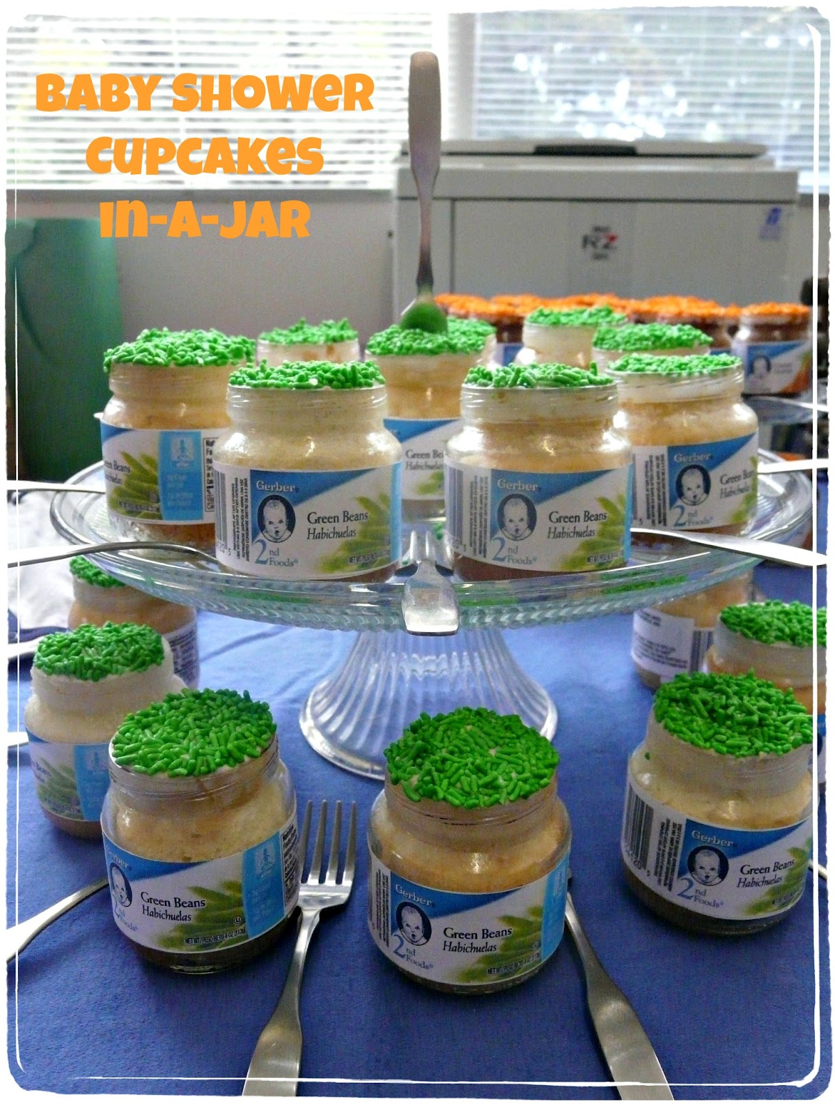 Cupcakes Baked In Baby Food Jars