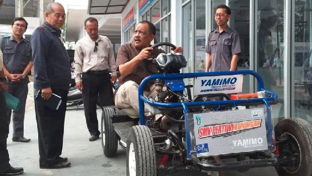 SMK Pertiwi Kuningan Respon Mimpi Emil Soal Inovasi HP Lokal