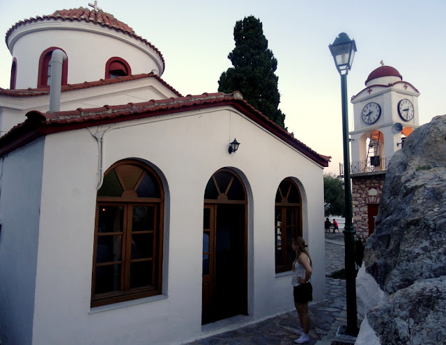 Agios Nikolaos Church & Clock Tower Skiathos