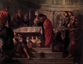 Tintoretto's The Presentation of Jesus in the Temple