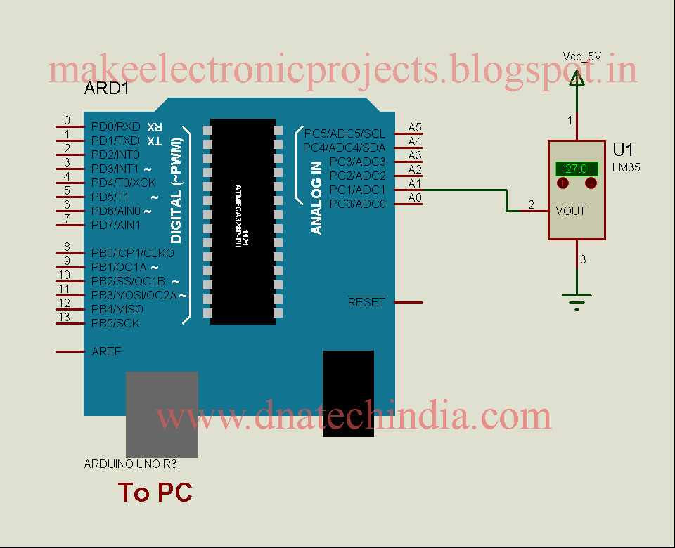 Pc Heat Monitor Circuit Piezoelectric Heat Sensor Circuit