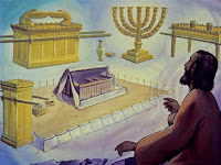 Then the Lord showed Moses how to make the tabernacle and all of the furniture.